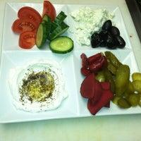 Photo taken at Mazah Mediterranean Eatery by Katy A. on 5/3/2013
