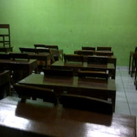 Photo taken at SMAN 46 Jakarta by Ciresta A. on 3/19/2013