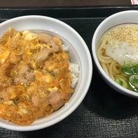Photo taken at なか卯 新潟小針台店 by こ〜じちゅう on 2/20/2015