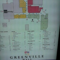 Photo taken at Greenville Mall by Allyson R. on 1/26/2013