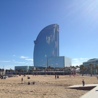 Photo taken at W Barcelona by Nicolas F. on 3/9/2013