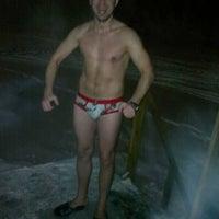 Photo taken at Беседка на городском пляже by Konstantin D. on 1/19/2013