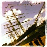 Photo taken at Greenwich Pier by Daniel C. on 9/29/2012
