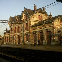 Photo taken at RER Saint-Gratien [C] by gabriel E. on 11/14/2012