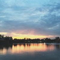 Photo taken at Lake by surutwadee on 9/16/2013