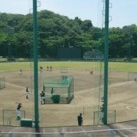 Photo taken at 蒲郡野球場 by T-neko on 6/1/2014