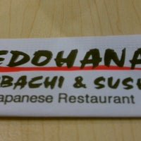 Photo taken at Edohana Sushi by Adrian C. on 4/2/2013