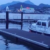 Photo taken at 尾道港 by Chiko r. on 7/31/2016