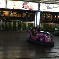Photo taken at Bumper cars by Agnes on 10/31/2016