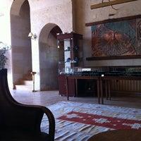 9/15/2012 tarihinde Tijen K.ziyaretçi tarafından Göreme Kaya Hotel'de çekilen fotoğraf
