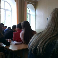 Photo taken at МГУ Кулешова 2 Корпус by Анечка . on 9/3/2013