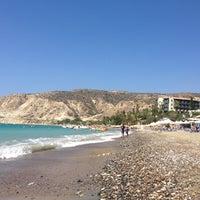 Photo taken at Pissouri Beach by Sayap on 8/3/2013