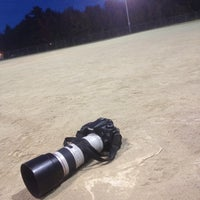 Photo taken at Union Street Fields by Justin R. on 9/30/2014
