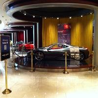Photo taken at Ferrari Maserati Showroom and Dealership by Denis E. on 9/19/2012