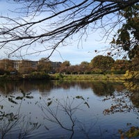 Photo taken at Back Bay Fens by David B. on 10/23/2012