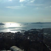 Photo taken at Conrad Istanbul Bosphorus by Sam Y. on 5/1/2013