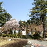 Photo taken at 이천양정여자고등학교 by Seyoung K. on 4/13/2013
