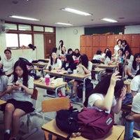 Photo taken at 이천양정여자고등학교 by Seyoung K. on 6/17/2014