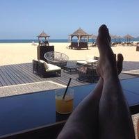 Photo taken at Melia Tortuga Beach by Dominik V. on 5/10/2014