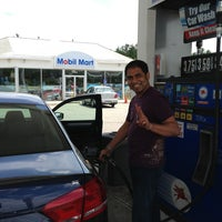 Photo taken at Mobil by Stephen B. on 7/6/2013