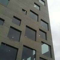 Photo taken at Folkwang-Universität - SANAA-Gebäude by Merle F. on 11/10/2012