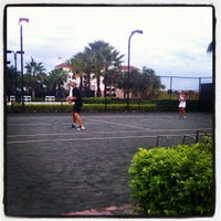 Photo taken at Miromar Tennis Club by Gale V. on 11/10/2012