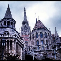 Photo taken at Fisherman's Bastion by Strahinja S. on 11/24/2012