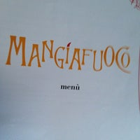 Photo taken at Mangiafuoco by Alessandro I. on 7/29/2013