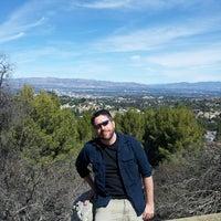 Photo taken at Topanga Canyon Lookout by Michael B. on 3/9/2014
