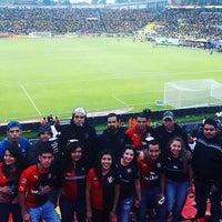 Photo taken at Estadio Morelos VIP by Laura H. on 8/7/2016
