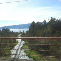 Photo taken at Playa Correntoso by Roberta L. on 9/22/2012