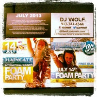 Photo taken at Maingate Night Club by DJ Wolf N. on 7/12/2013