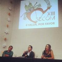 Photo taken at Auditorio da Reitoria by Jônatas M. on 4/18/2013