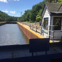 Photo taken at Erie Canal Lock 17 by Raymond G. on 6/24/2017