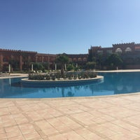 Photo taken at Hotal riad Mogador agdal by Lesya S. on 1/26/2016
