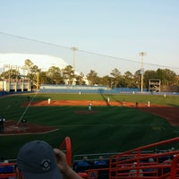 Photo taken at McKethan Stadium at Perry Field by Penny N. on 5/9/2017
