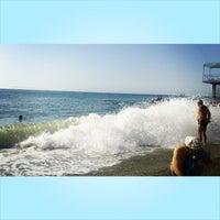 "Photo taken at Пляж ""Кримські Зорі"" by Christine K. on 7/12/2014"