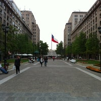Photo taken at Paseo Bulnes by Luxin E. on 10/23/2012