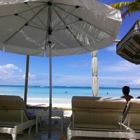 Photo taken at Discovery Shores Boracay by Kobi K. on 7/8/2013