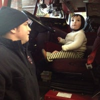 Photo taken at Brookline Fire Station 5 by Jason M. on 12/25/2012
