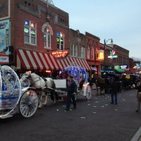 Photo taken at World Famous Beale Street by Matthew B. on 2/12/2013