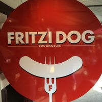 Photo taken at Fritzi Dog by Karl V. on 10/12/2014