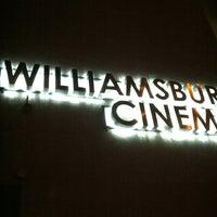 Photo taken at Williamsburg Cinemas by Karl V. on 1/7/2013