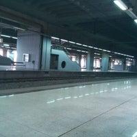 Photo taken at Belgradе Centre Railway Station by Dusan P. on 2/25/2013