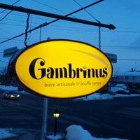 Photo prise au Gambrinus - Brasserie Artisanale par Deejay T. le4/19/2013