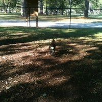 Photo taken at Stoney Creek Dog Park by Tonya D. on 10/6/2012