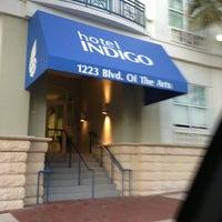 Photo taken at Hotel Indigo Sarasota by Josie M. on 1/25/2013