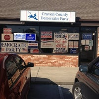 Photo taken at Craven County Democrat Head Quarters by Roy S. on 11/5/2012