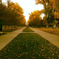 Photo taken at Liberty Park by Jeff P. on 10/31/2012