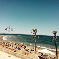 Photo taken at Playa Santa Ana by Niina 🐼 on 6/4/2017